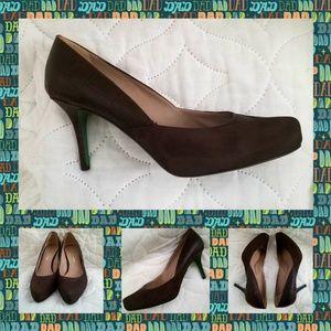Lisa For Donald J Pliner Brown Italian Shoes 10M